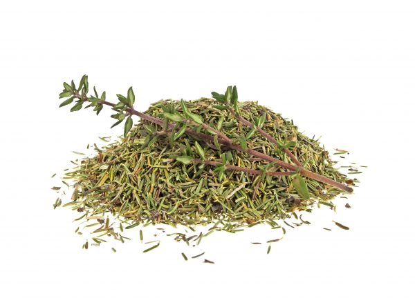 Dried thyme and thyme sprig isolated on white background.jpg