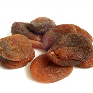 Dried apricots on a white background.jpg